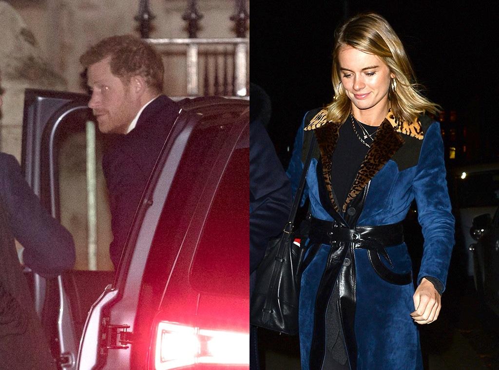 Prince Harry, Cressida Bonas, Pippa Middleton
