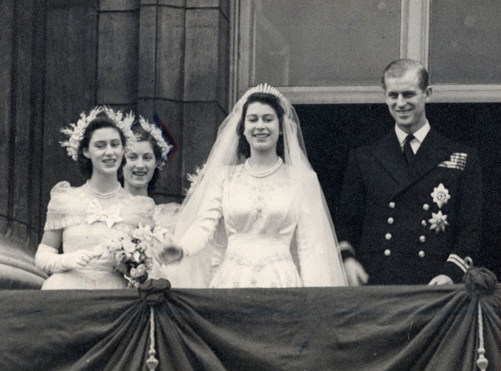 Princess Margaret, Lady Mary Cambridge, Queen Elizabeth, Philip Duke of Edinburgh
