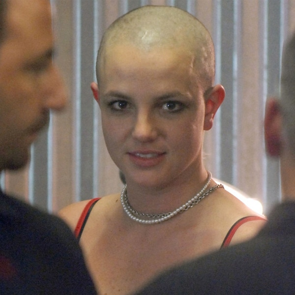 Briteny spears shaved