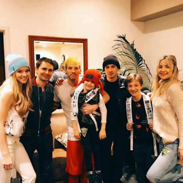 Kate Hudson, Matt Bellamy, Twenty One Pilots Concert