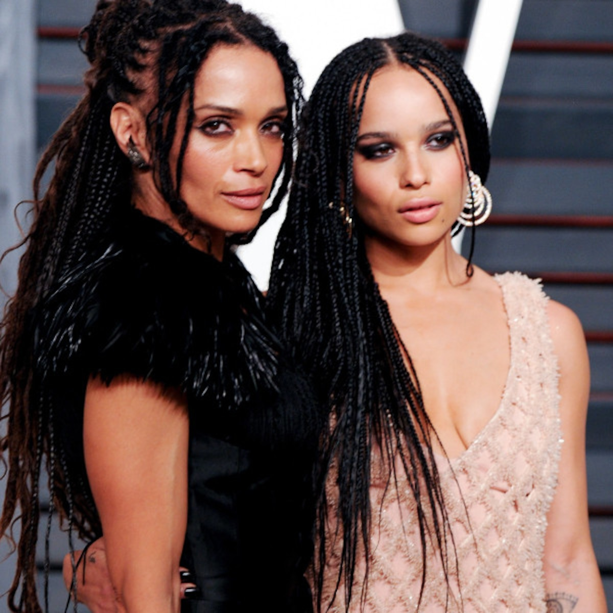Zoe Kravitz Recreates Lisa Bonet S Nude Rolling Stone Cover
