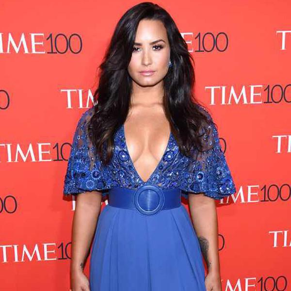 "Demi Lovato Calls TIME Editors ""Hypocrites"" for Honoring Donald Trump Alongside #MeToo Women"