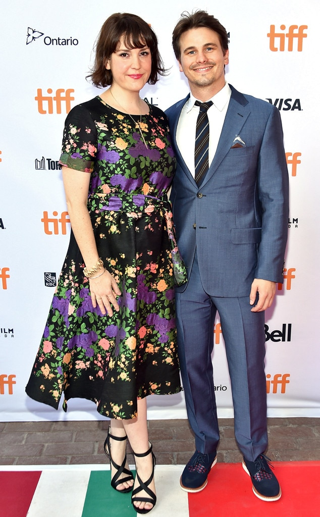 Melanie Lynskey -  The actress and her  Parenthood  alum fiancé  Jason Ritter welcomed their first child , a little girl, in early 2019. Details on her name and her birth date are still under wraps.