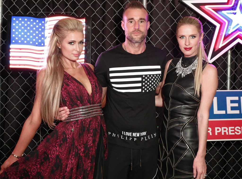 Paris Hilton, Philipp Plein, Nicky Hilton Rothschild