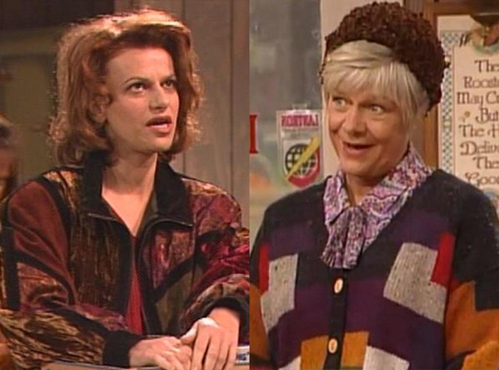 Sandra Bernhard, Estelle Parsons, Roseanne