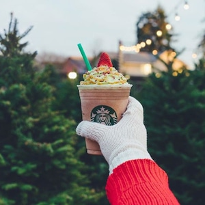 Starbucks, Christmas Tree Frappuccino