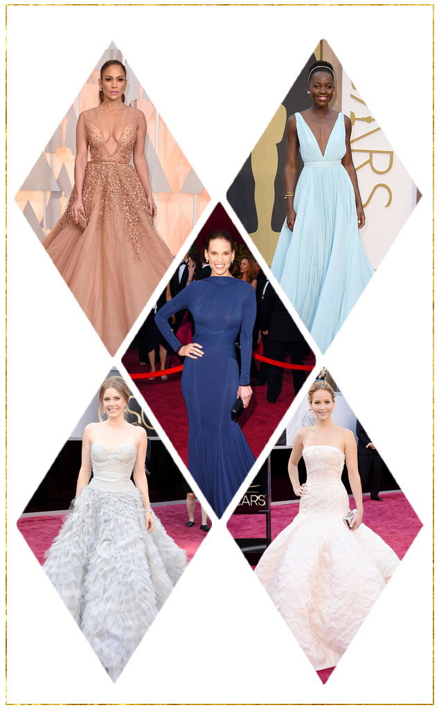 The True Story Of Celebrity Oscar Dresses Rules Politics And Why They Wear Who They Re Wearing E Online
