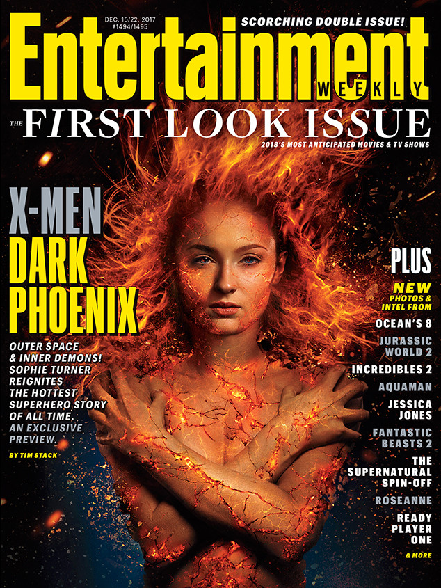 Sophie Turner, X-Men Dark Phoenix, Entertainment Weekly