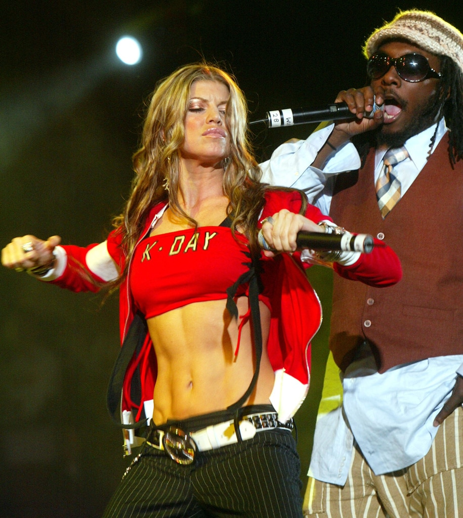 Fergie, Black Eyed Peas, 2004
