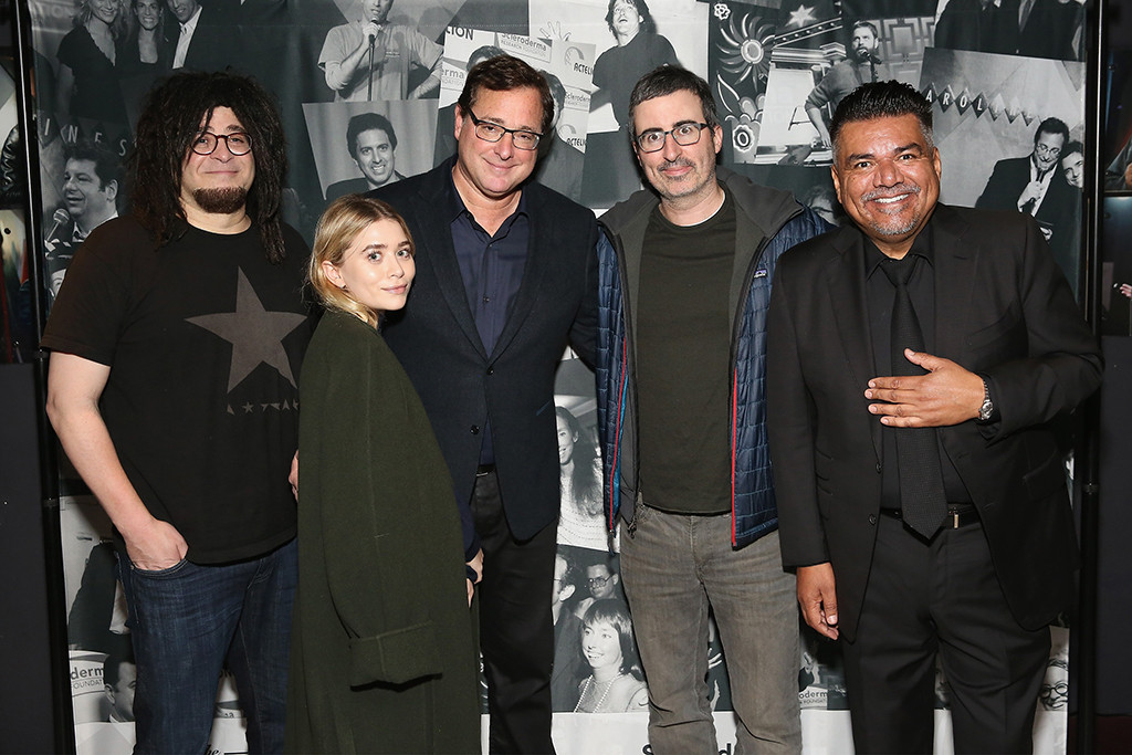 Adam Duritz, Ashley Olsen, Bob Saget, John Oliver, George Lopez