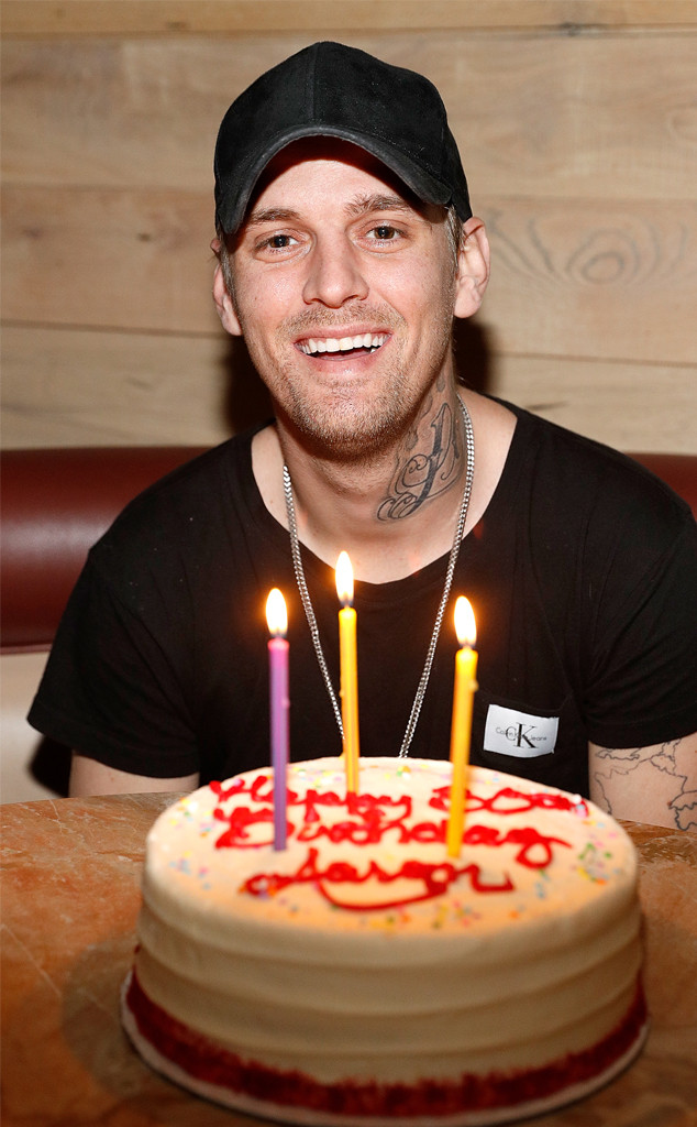 Aaron Carter, 30th Birthday