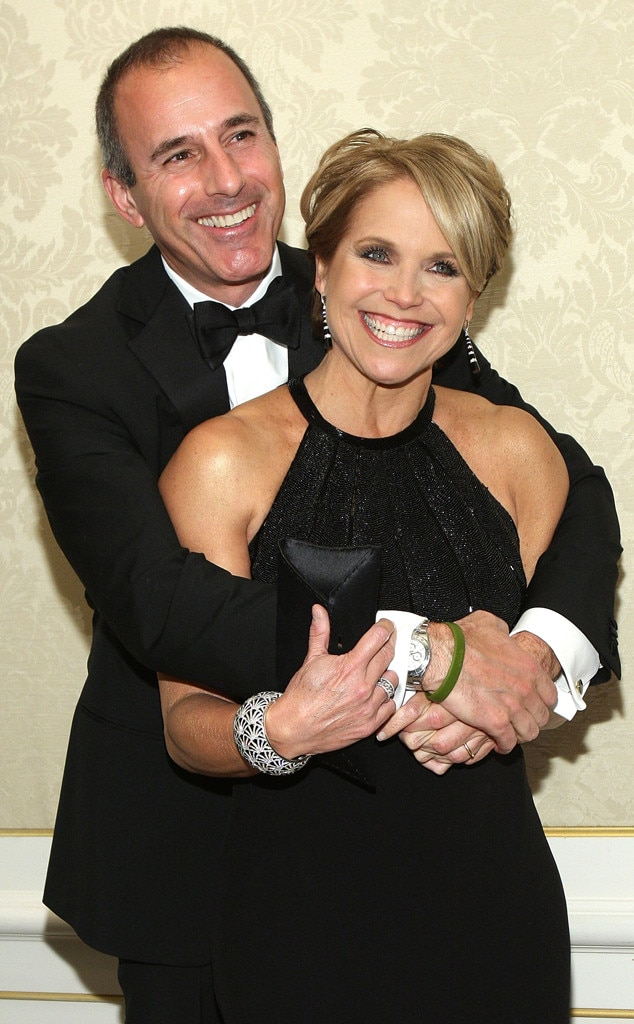 Think, that katie couric is an asshole