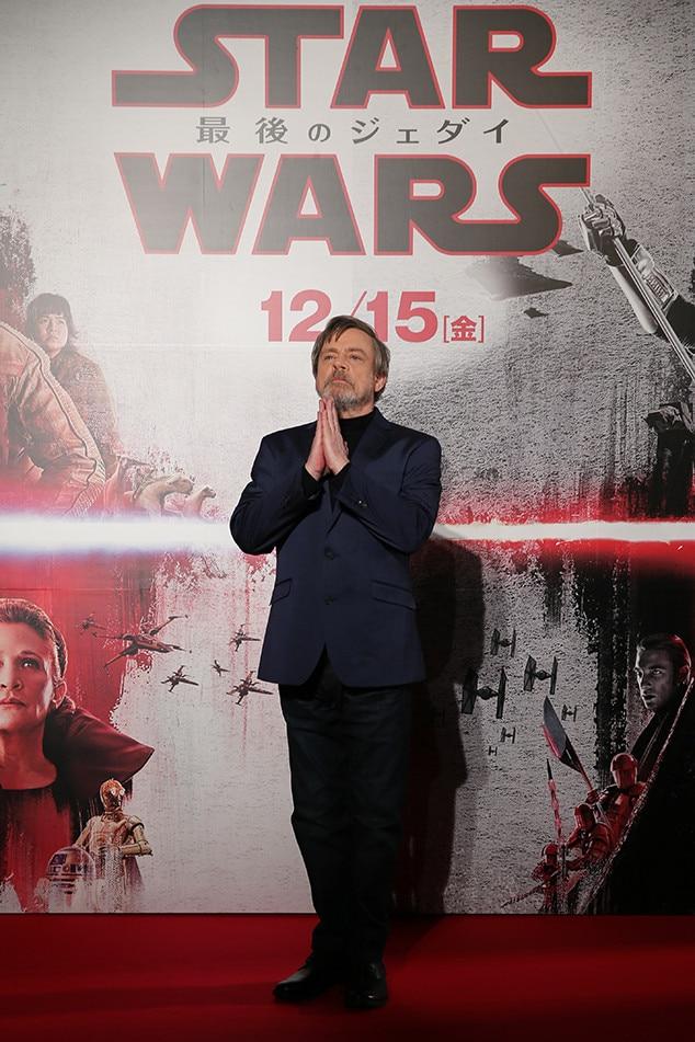 Mark Hamill, Star Wars: The Last Jedi, Tokyo, Japan, Premiere