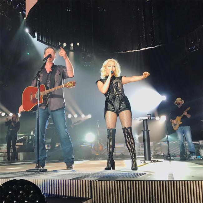 Gwen Stefani, Blake Shelton, The Forum, Concert