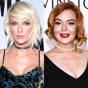 Taylor Swift, Lindsay Lohan