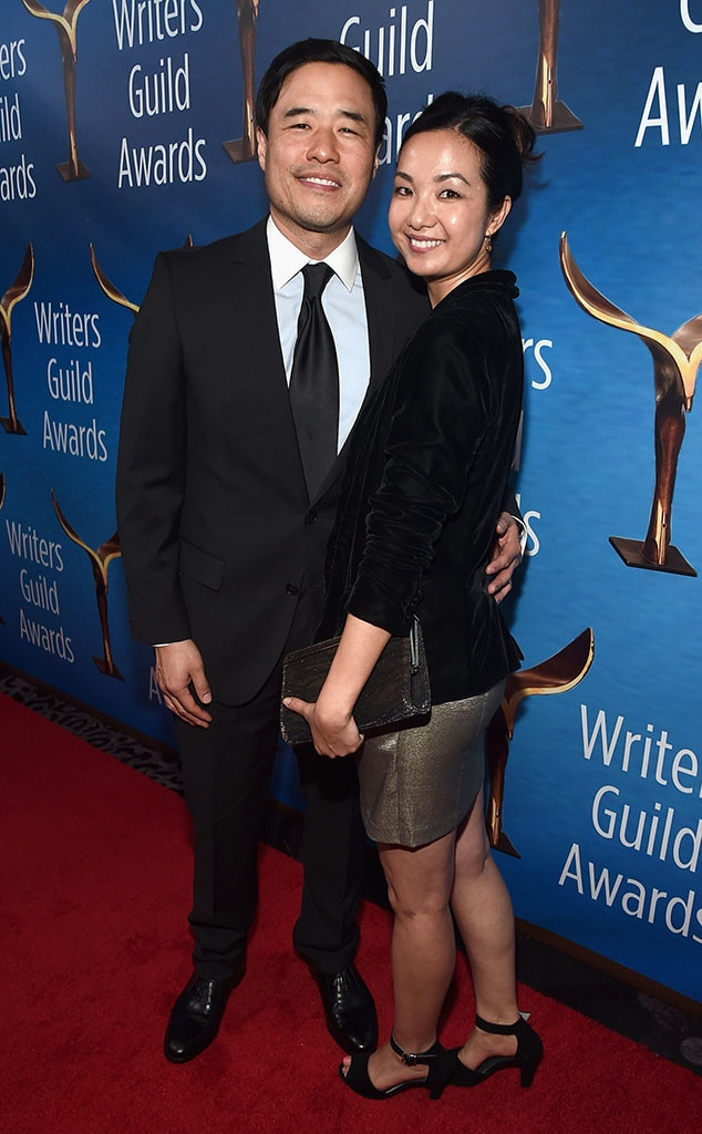 Randall Amp Jae Suh Park From 2017 Wga Awards Red Carpet