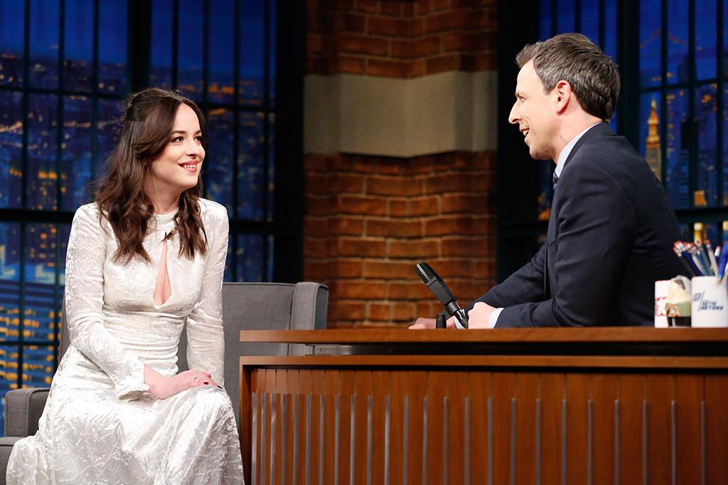 Dakota Johnson, Late Night With Seth Meyers