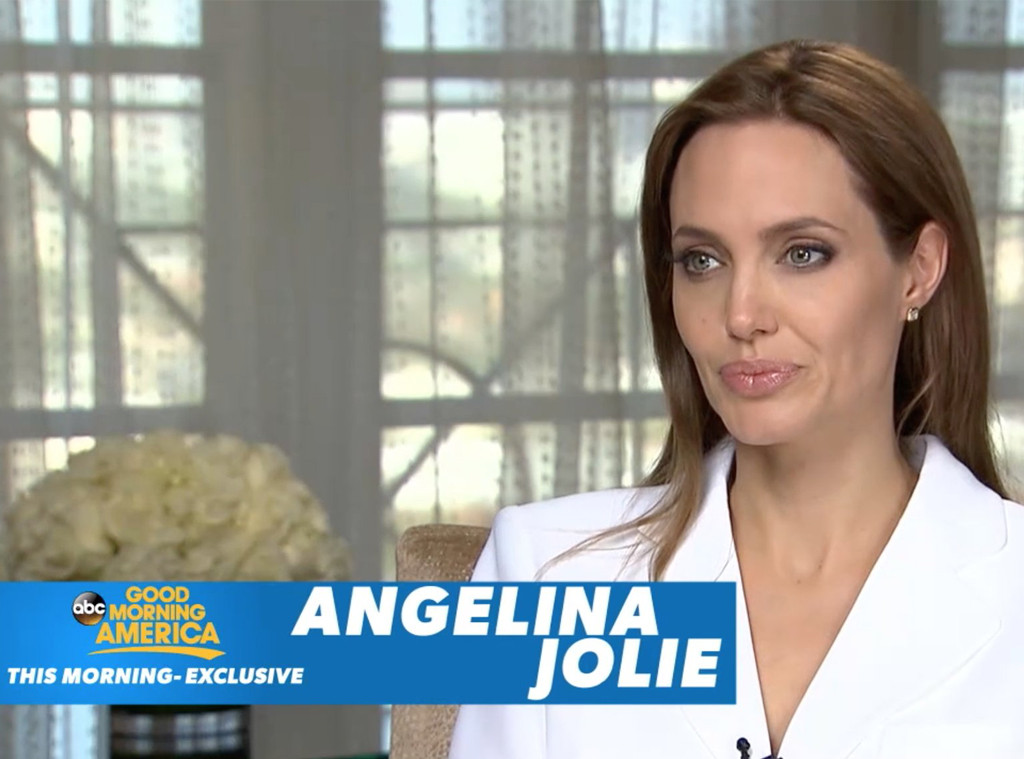 Angelina Jolie Good Morning America