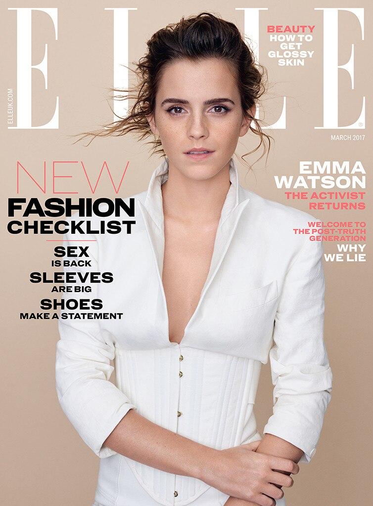 dress - Watson emma covers elle uks feminist issue video