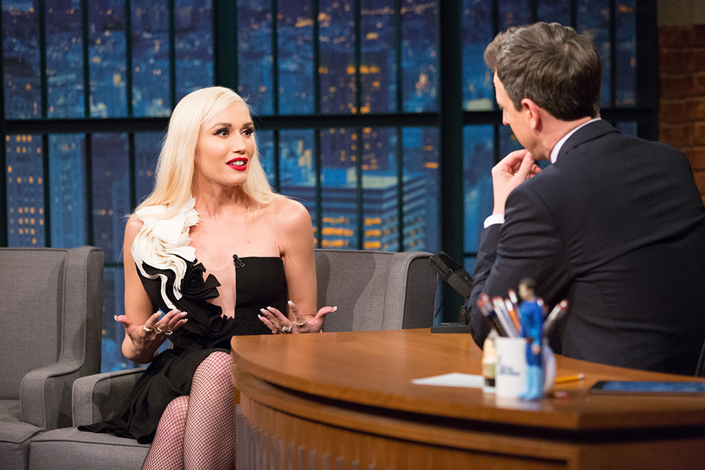 Gwen Stefani, Late Night With Seth Meyers