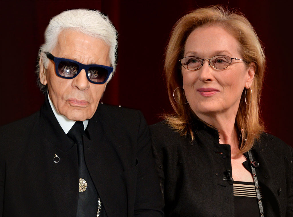 c3d685d8b6d Karl Lagerfeld Claims Meryl Streep Wanted to Get Paid to Wear Chanel to the  2017 Oscars