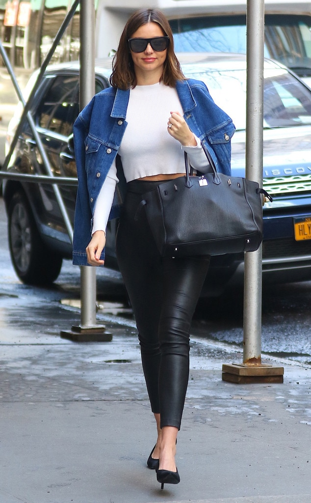 Casual Cool From Miranda Kerrs Street Style E News
