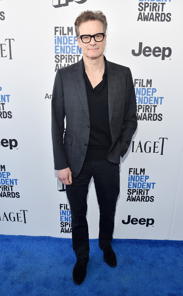 Colin Firth, 2017 Film Independent Spirit Awards