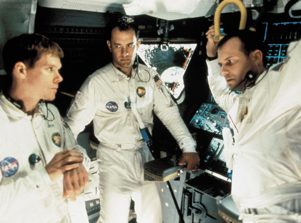 Apollo 13, Kevin Bacon, Tom Hanks, Bill Paxton