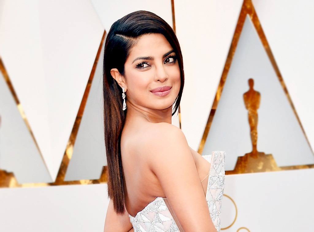 ESC: 2017 Oscars, Beauty, Priyanka Chopra
