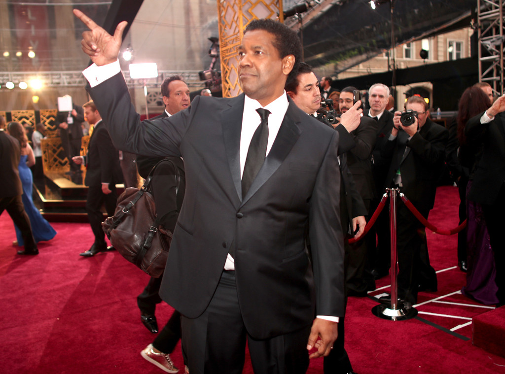 Denzel Washington, 2017 Oscars, Academy Awards, Candids