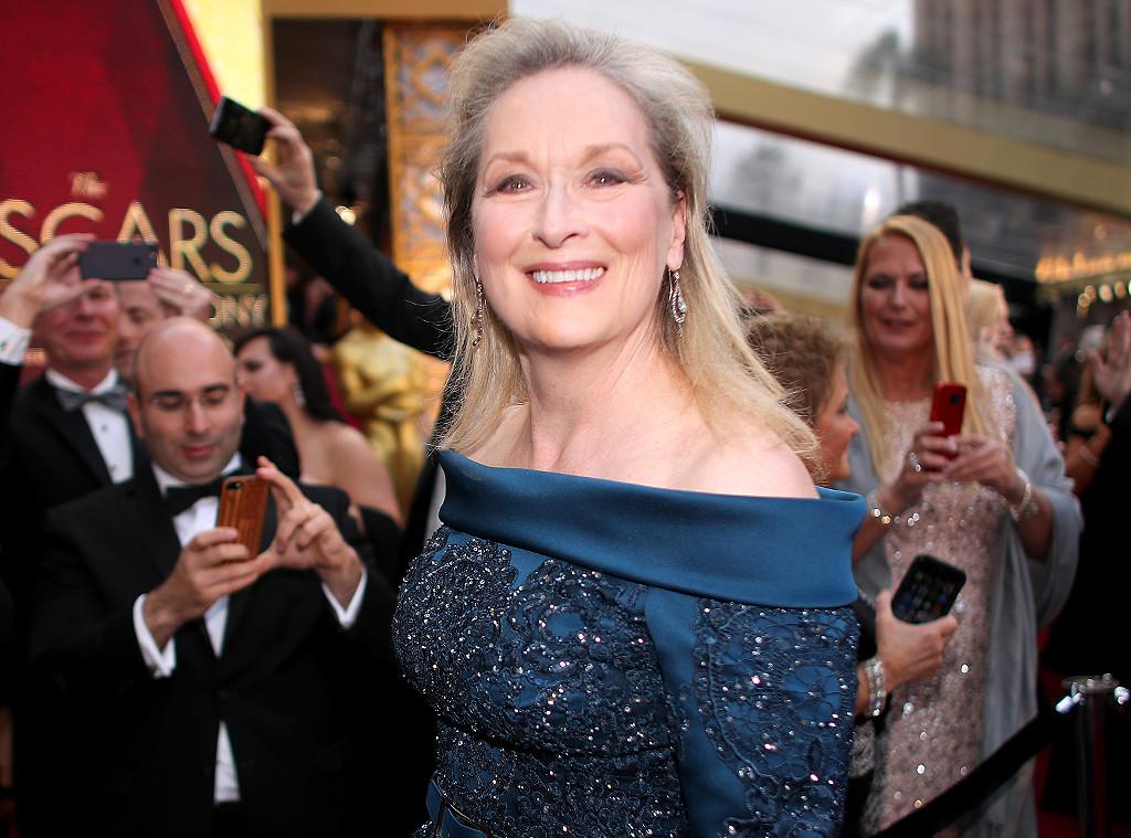 Meryl Streep, 2017 Oscars, Academy Awards, Candids