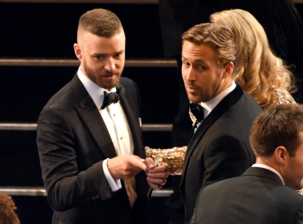 Justin Timberlake, Ryan Gosling, 2017 Oscars, Academy Awards, Show