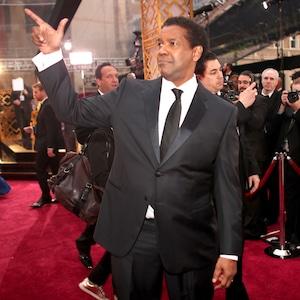 Denzel Washington, 2017 Oscars, Academy Awards, Candids