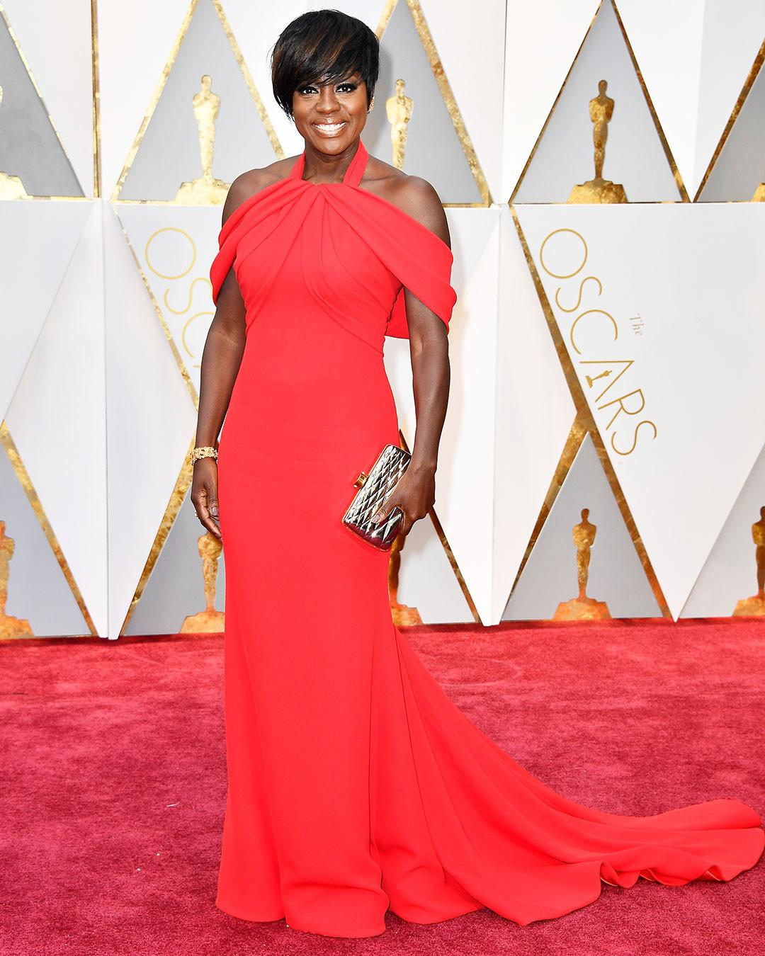 Viola Davis, 2017 Oscars, Academy Awards, Instagram