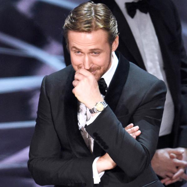 Ryan Gosling, 2017 Oscars, Academy Awards, Show