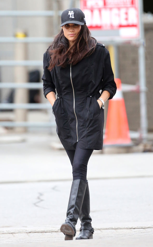 Meghan Markle Continues On Her Gym Grind Following Visit