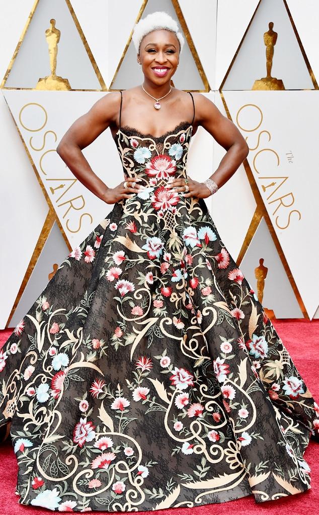 Cynthia Erivo, 2017 Oscars, Academy Awards, Arrivals