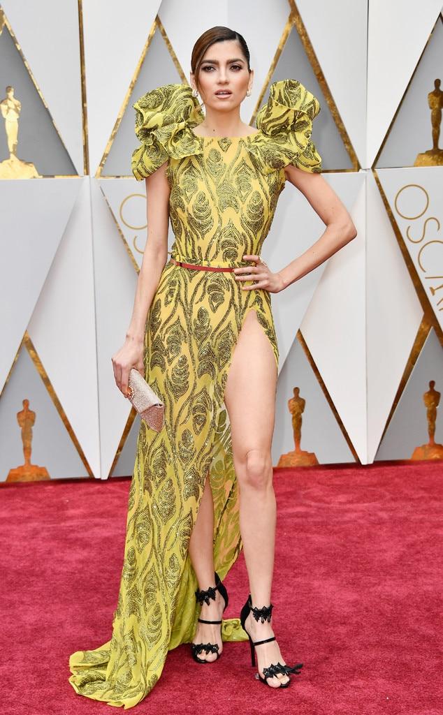 Blanca Blanco, 2017 Oscars, Academy Awards, Arrivals