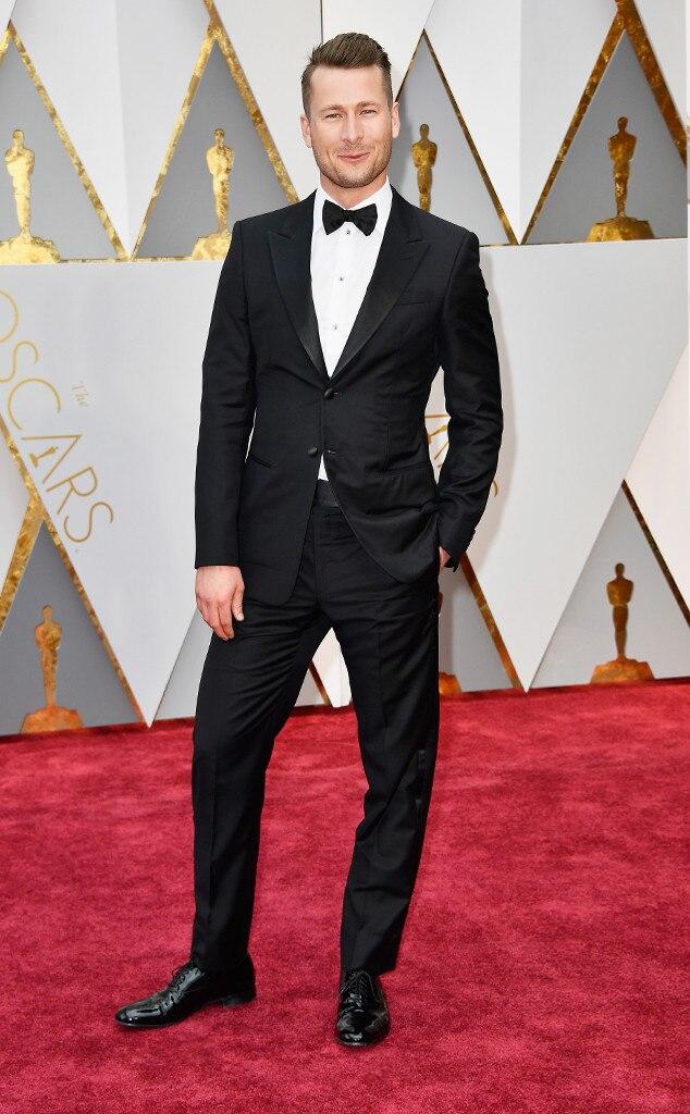 Glen Powell, 2017 Oscars, Academy Awards, Arrivals