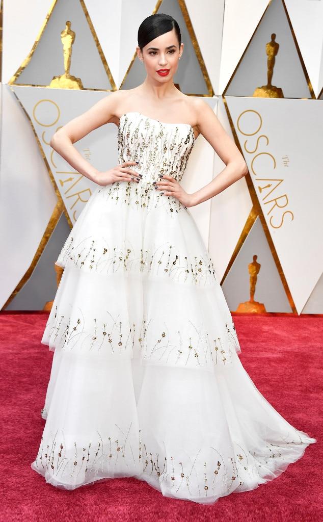 Sofia Carson, 2017 Oscars, Academy Awards, Arrivals