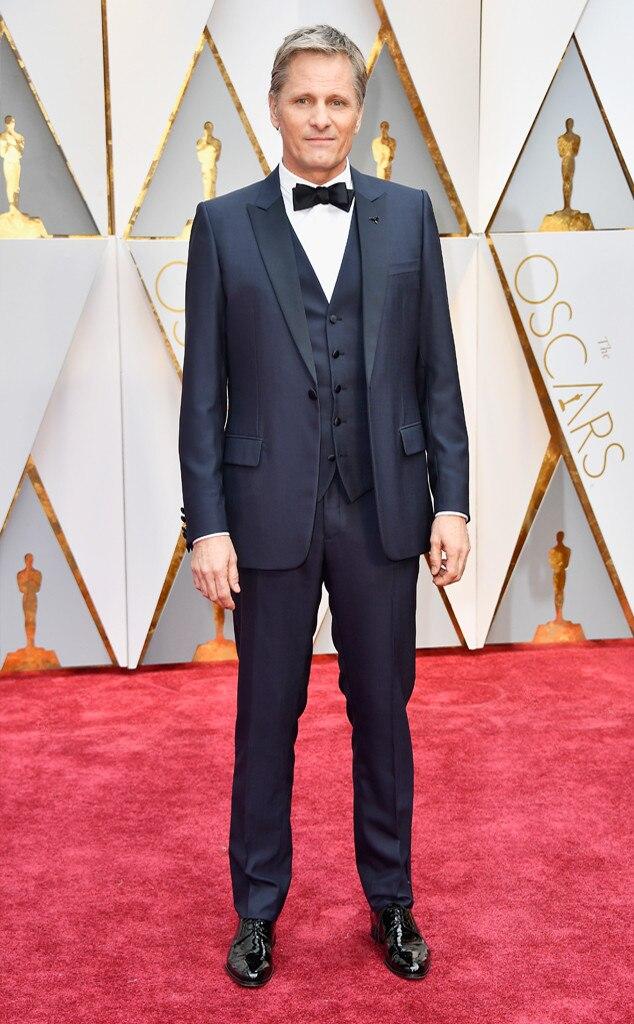Viggo Mortensen, 2017 Oscars, Academy Awards, Arrivals