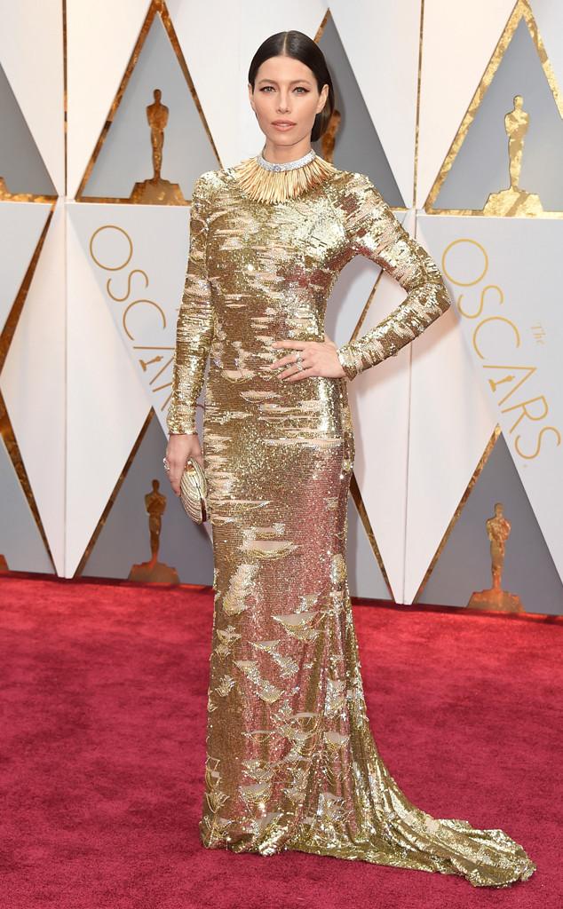 Jessica Biel, 2017 Oscars, Academy Awards, Arrivals