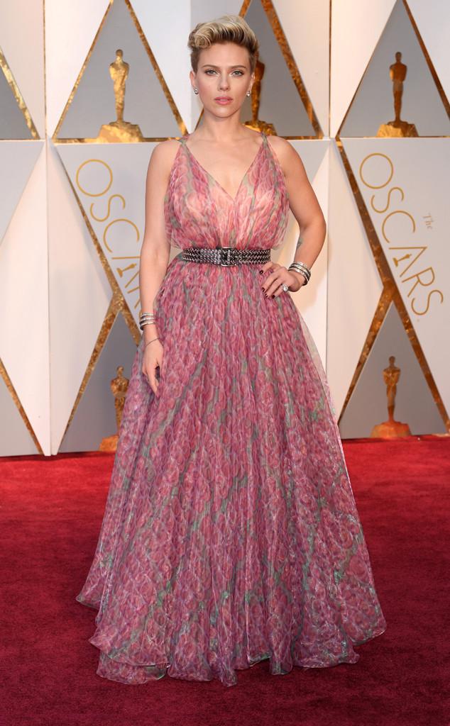 Scarlett Johansson, Oscar 2017, premi Oscar, arrivi