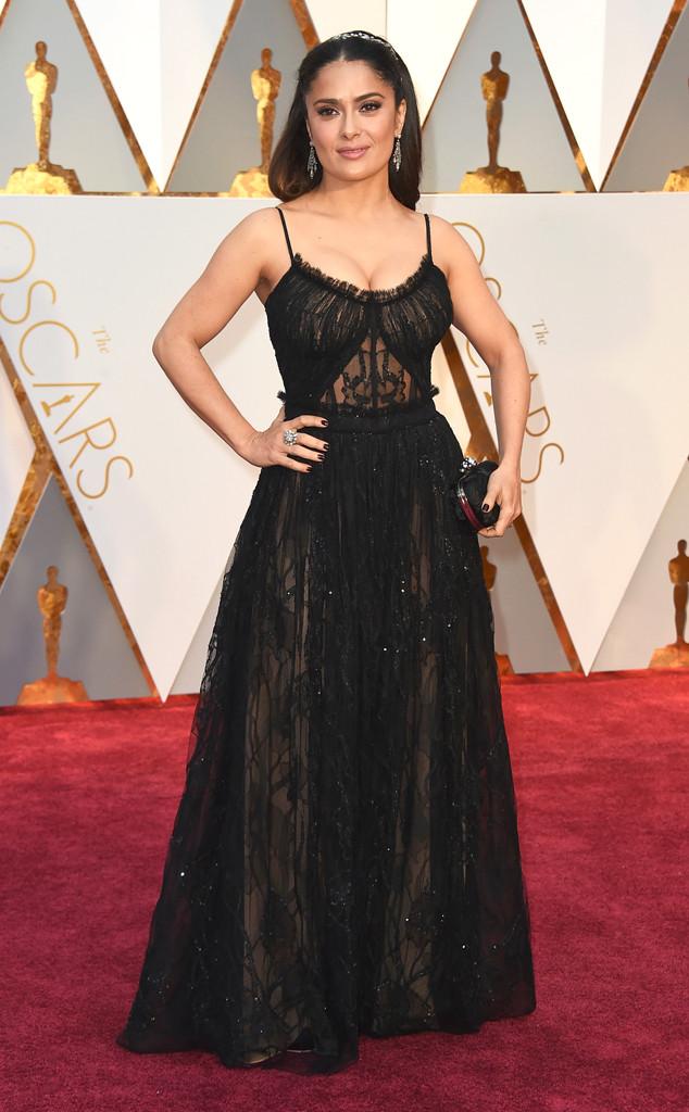 Salma Hayek, 2017 Oscars, Academy Awards, Arrivals