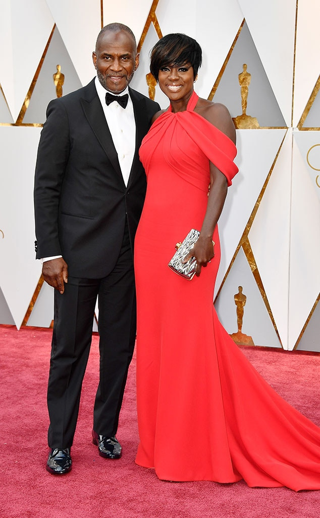 Julius Tennon, Viola Davis, 2017 Oscars, Academy Awards, Couples