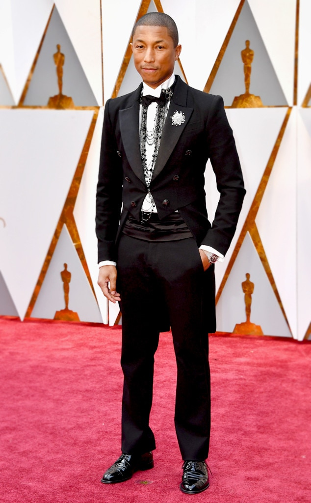 Pharrell Williams from Oscars 2017: Best Dressed Men | E! News