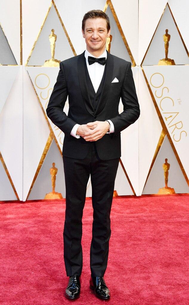 Jeremy Renner 2017 Oscars, Academy Awards, Arrivals