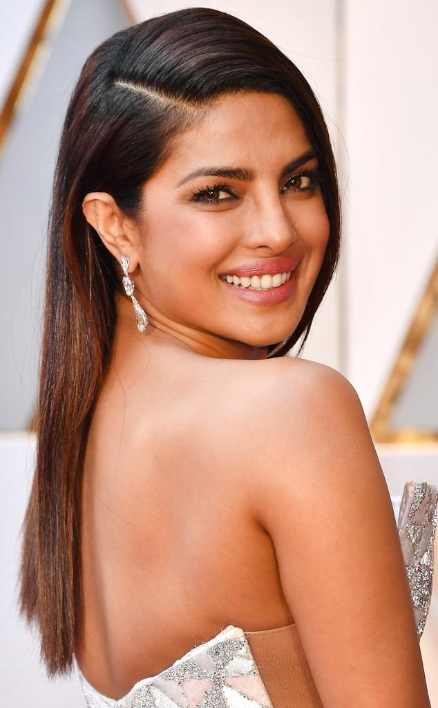ESC: 2017 Oscars, Beauty, Priyanka Chopra