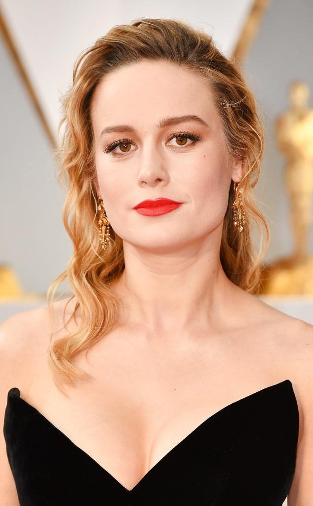 ESC: 2017 Oscars, Beauty, Brie Larson