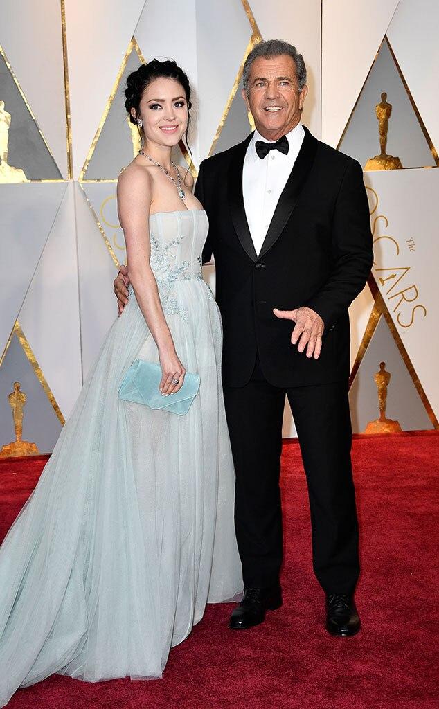 Rosalind Ross, Mel Gibson, 2017 Oscars, Academy Awards, Couples